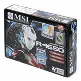 Видеокарта MSI PCI-E R4650-MD1G Radeon 4650 1Gb DDR2 (128bit) HDMI DVI VGA  Retail