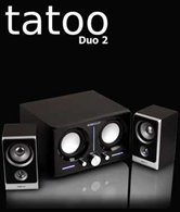 Колонки SonicGear Tatoo Duo 2 <2.2, 40 Вт, эквалайзер>