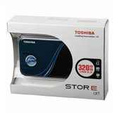 "Внешний жесткий диск 2.5"" Toshiba StorE Art v2 (HDDR320E04EL_CS) 320Gb, 5400rpm, USB 2.0, 8Mb, external, retail, blue"