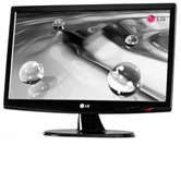 "Монитор  TFT 18,5"" LG Flatron W1943SB-PF Glossy Black, 300cd/m2, 30000:1DFC, 5ms, Wide"