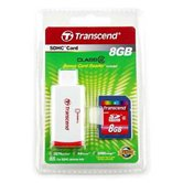 Карта памяти Secure Digital Card 8Gb Transcend  [TS8GSDHC2-P2] + USB SDHC/MMC Reader Class2 Retail