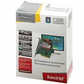 ТВ-тюнер K-World  PCI Analog TV Card LE (KW-PC155-A ), FM, пульт ДУ