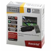 ТВ-тюнер K-World USB Analog TV Stick III (KW-UB405-A), Пульт ДУ
