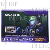 Видеокарта Gigabyte PCI-E GV-N250-512I GeForce with CUDA GTS250 512Mb DDR3 (256bit) HDMI DVI  Retail