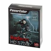 Видеокарта PowerColor PCI-E Radeon PCS HD5750 512MB DDR5 (128bit) DVI VGA HDMI  (AX5750 512MD5-H) Retail