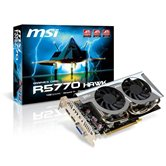 Видеокарта MSI PCI-E R5770 Hawk Radeon 5770 1Gb DDR5 (128bit) Dual DVI HDMI DP Retail