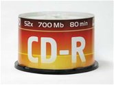 Диск CD-R 700MB Data Standart 52x Cake box, 50шт [13210-DSCDR01B]