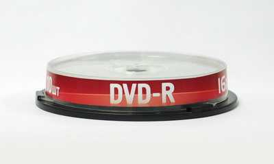 Диск DVD-R 4,7Gb Data Standart 16x  Cake box, 10шт [13410-DSDRM03L]