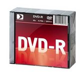 Диск DVD-R 4,7Gb Data Standart 16x  Slim, 10шт  [13410-DSDRM03X]