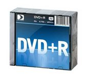 Диск DVD+R 4,7Gb Data Standart 16x  Slim, 10шт  [13420-DSDRP04X]
