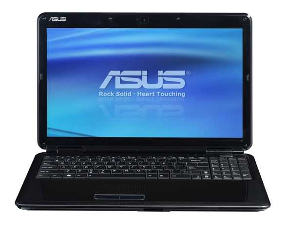 "Ноутбук ASUS K50AD 15.4"" HD/AMD Athlon II Dual-Core M320 (2.1Ghz)/2Gb/250Gb/512Mb ATI Radeon HD4570/DVD±RW SM/WiFi/Web-cam/DOS"