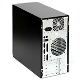 Корпус INWIN EMR-011 BS U2AXDX Micro ATX 350W (ATX 2.3, 20+4pin, 12cm Fan) USB+Audio+Heatpipe, Черный (плохая упаковка)