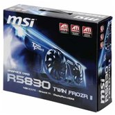 Видеокарта MSI PCI-E R5830 Twin Frozr II Radeon 5830 1Gb DDR5 (256bit) Dual DVI HDMI DP Retail