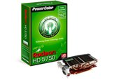 Видеокарта PowerColor PCI-E Radeon Go! Green HD5750 1GB DDR5 (128bit) Dual DVI HDMI DP (AX5750 1GBD5-NS3DH) Retail
