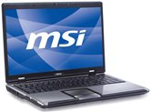 "Ноутбук MSI CR610-083 16"" HD LED/AMD Athlon II Dual-Core M320 (2.1Ghz)/2Gb/320Gb/ATI Radeon HD4200/DVD±RW DL/WiFi/6Cell/HDMI/Web-cam 1.3M/Win 7 Starter Black"