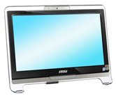 "Моноблок MSI AE1900-B Black 18.5"" WXGA/Intel Atom 230 (1.6Ghz)/1Gb/160Gb/DVD±RW DL/WiFi/Web-cam 1.3M/WinXP Home"