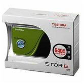 "NOT FOR SALE  Внешний жесткий диск 2.5"" Toshiba StorE Art v2 (HDDR640E04EG_CS) 640Gb, 5400rpm, USB 2.0, 8Mb, external, retail, Green подарок"