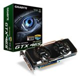 Видеокарта Gigabyte PCI-E (GV-N465UD-1GI 1.0) GeForce with CUDA GTX465 1Gb DDR5 (256bit) Dual DVI/ mini HDM/I Retail