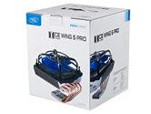 Кулер DEEPCOOL ICEWING 5 PRO S1366/S1150/S1155/S1156/S775/AM2/AM2+/AM3/FM1 (12шт/кор,TDP 136W, PWM, 5 Heat-Pipe) RET
