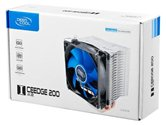 Кулер DEEPCOOL ICE EDGE 200  S1156/S775/AM2/AM2+/AM3  (24шт./кор, 2 Heat-Pipe, медн. осн-е) RET