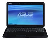 "Ноутбук ASUS K50AF 15.6"" HD LED/AMD Turion II Dual-Core M520 (2.3Ghz)/2Gb/320Gb/512Mb ATI Radeon HD5145/DVD±RW SM/WiFi/Web-cam/Win7 Basic"