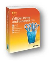 Программное обеспечение Microsoft® Office Home and Business 2010 32-bit/x64 Russian Russia DVD, BOX (T5D-00415)