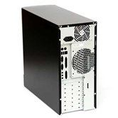 Корпус INWIN EAR-012 Black (ATX 500W, USB+Audio, middle ATX, черный)