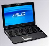 "Ноутбук ASUS G60VX 16"" HD LED/Intel Core 2 Duo T6600(2.2GHz)/3Gb/250Gb/1Gb nVidia GTX260M/DVD±RW SM/WiFi/BT/Web-cam/Win 7 Premium + Bag"