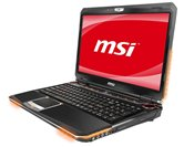 "Ноутбук MSI GX660-245 15.6"" Full HD LED/Intel Core i5 450M(2.4GHz)/4Gb/320Gb+1 free space for HDD/ATI Radeon HD5870 1Gb/DVD±RW SM/WiFi/9Cell/BT/Web-cam 2.0M/Dynaudio (2 Theater Class Speakers+1 Subwoofer)/Win 7 Premium"
