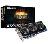 Видеокарта Gigabyte PCI-E GV-N470SO-13I GeForce with CUDA GTX470 1280Mb DDR5 (320bit) Dual DVI HDMI Retail