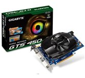 Видеокарта Gigabyte PCI-E (GV-N450-1GI) GeForce with CUDA GTS450 1Gb DDR5 (128bit) Dual DVI/ miniHDMI/ Retail