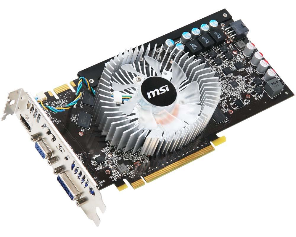 Видеокарта MSI PCI-E N250GTS-MD1G GeForce with CUDA GTS250 1Gb DDR3 (256bit) Dual DVI  OEM