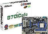 Материнская плата Socket-AM3 Asrock 870iCafe (AMD 870/SB850) ATX  RTL