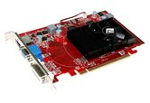 Видеокарта PowerColor PCI-E Radeon HD4650 512Mb DDR3 (128bit) DVI VGA HDMI  (AX4650 512MK3-H) OEM
