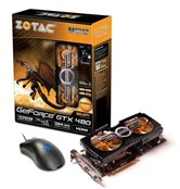 Видеокарта ZOTAC PCI-E GeForce with CUDA GTX480 AMP EDITION (756MHz) 1536MB DDR5 (384bit)  Dual DVI MiniHDMI  with Razor Mouse (Death adder) (ZT-40102-30P) Retail