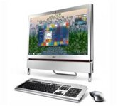 "Моноблок Acer Aspire Z5710 <PW.SDBE2.084> 23"" wide LCD multi-touch Full HD/Intel Core Dual G6950 (2.80GHz)/3Gb/500Gb/nVidia GeForce GT210M 512MБ/DVD±RW SLOT-IN/WiFi/BT/HDMIWeb-cam/Wireless kbd & mouse/Win 7 Home Premium"