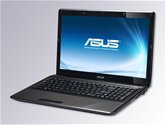 "Ноутбук ASUS K52DR 15.6"" HD LED/AMD Athlon II Dual-Core P320(2.1GHz)/2Gb/320Gb/1Gb ATI Radeon HD5470/DVD±RW SM/WiFi/BT/Web-cam/Win 7 Basic"