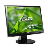 "Монитор 19"" Wide TFT Asus VH198D Glossy-Black (LED-подсветка, 10M:1, 250cd/m2, 5мс)"