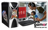 ПК ЭКСИМЕР® GAMER Lumen 8555/Phenom II X6 1055T(2,8)/4096Mb/1000Gb/2 x HD5750-1024Mb/DVD-RW/CR/Win 7HB