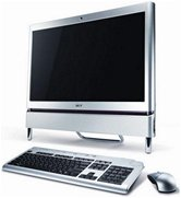 Моноблок Acer Aspire Z5610 <PW.SCYE2.096> 23&quot; wide LCD multi-touch Full HD/Intel C2D E6500/2Gb/320Gb/512Mb nVidia GT 210/DVD±RW/WiFi/BT/TV Tuner/Web-cam/Wireless kbd &amp; mouse/Windows7 HP