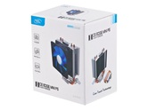 Кулер DEEPCOOL ICE EDGE Mini FS V2.0 LGA1156/55/51/50/775/FM2/FM1/AM3+/AM3/AM2+/AM2/940/939/754 (54шт/кор, TDP 95W, 2 Heat-Pipe прямого контакта ) RET