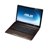 "Ноутбук ASUS K72F 17.3"" HD+ LED/Intel Core i3 380M(2.53GHz)/3Gb/320Gb/DVD±RW SM/WiFi/BT/Web-cam/Win 7 Basic"