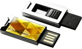 Накопитель Flash USB Drive Silicon Power Touch 850 4Gb  Amber Paper box (Retail)