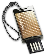 Накопитель Flash USB Drive Silicon Power Touch 851 8Gb Gold  (Retail)