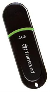 Накопитель Flash USB drive Transcend JetFlash 300 4Gb black