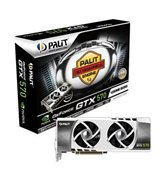 Видеокарта Palit PCI-E GeForce with CUDA GTX570 Sonic Platinum 1280Mb DDR5 (320bit) Dual DVI/ DP/ HDMI/ Retail (NE5X570H10DA-1101F)