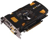 Видеокарта ZOTAC PCI-E GeForce with CUDA GTX550 Ti AMP Edition (1000MHz) 1024MB DDR5 (192bit)  Dual DVI HDMI DP (ZT-50402-10L) Retail