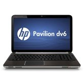 Ноутбук HP Pavilion dv6-6030er <LK971EA> 15.6&quot; HD/AMD Phenom II N660/4Gb/320Gb/1GBb ATI Radeon HD6650/DVD±RW/6Cell/WiFi/BT/WebCam/W7HB Metal