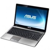 "Ноутбук ASUS K53SJ 15.6"" HD+ LED/Intel Core i5 2410M(2.3GHz)/4Gb/320Gb/1Gb nVidia 520M/DVD±RW SM/WiFi/Web-cam/W7HP"