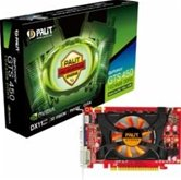 Видеокарта Palit PCI-E GeForce with CUDA GTS450 1Gb DDR3 (128bit) DVI/ VGA/ HDMI/ Retail (NEAS4500HD01-1162F)